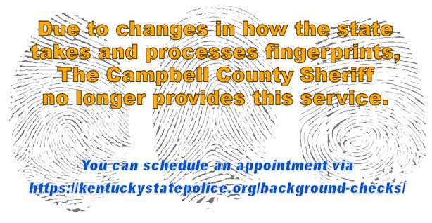 Changes for Public Fingerprinting.